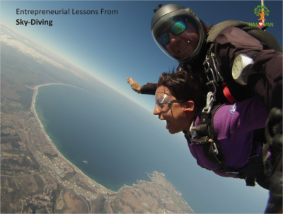 Mindful Lessons From Sky-diving